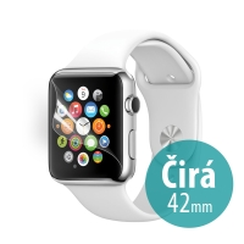 Ochranná fólie pro Apple Watch 42mm Series 1 / 2 / 3 - čirá