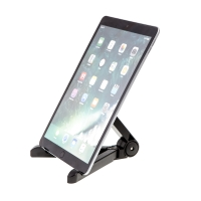 Stojánek pro Apple iPhone / iPad - univerzální - skládací - plastový - černý