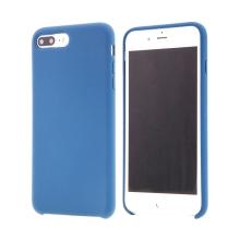 Kryt pro Apple iPhone 7 Plus / 8 Plus - gumový - příjemný na dotek -  modrý