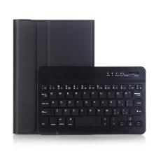 Klávesnice Bluetooth odnímatelná + kryt / pouzdro pro Apple iPad mini 4 / 5 - černá