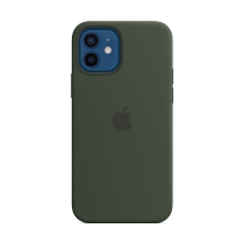 Originální kryt pro Apple iPhone 12 / 12 Pro - silikonový - kypersky zelený