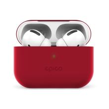 Pouzdro / obal EPICO pro Apple AirPods Pro - silikonové - červené