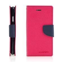 Pouzdro Mercury Fancy Diary pro Apple iPhone 7 / 8 - stojánek a prostor na doklady - růžové / modré
