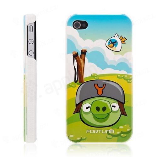 Ochranný kryt / pouzdro pro Apple iPhone 4 / 4S - Fortuna Angry Birds