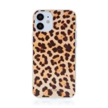 Kryt BABACO pro Apple iPhone 12 mini - gumový - leopardí vzor