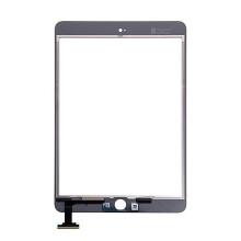 Přední dotykové sklo (touch screen) pro Apple iPad mini 3 bez IC konektoru - bílé