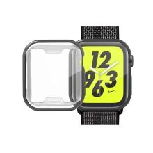 Kryt pro Apple Watch 4 / 5 / 6 / SE / 40mm - černý - gumový