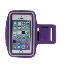Sportovní pouzdro pro Apple iPhone včetně velikostí Plus a Max - fialové