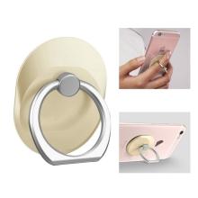 Stojánek / prsten na zadní stranu Apple iPhone - kovový - zlatý