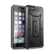 Pouzdro / kryt SUPCASE pro Apple iPhone 6 / 6S - outdoor / odolné - černé