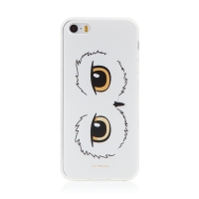 Kryt Harry Potter pro Apple iPhone - gumový - oči sovy Hedviky - průhledný