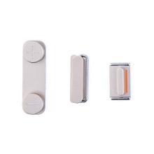 Sada postranních tlačítek / tlačítka pro Apple iPhone 5S / SE (Power + Volume + Mute) - zlatá (Gold) - kvalita A+