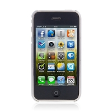 Zadní ochranný kryt pro Apple iPhone 3G / 3GS - bílý