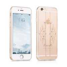 Kryt HOCO pro Apple iPhone 6 Plus / 6S Plus gumový s lesklými kamínky
