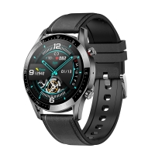 Fitness chytré hodinky LEMONDA GT05 - tlakoměr / krokoměr / měřič tepu a EKG - Bluetooth - vodotěsné - stříbrné