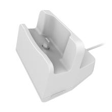 Nabíjecí stanice pro Apple iPhone / AirPods - plastová - bílá