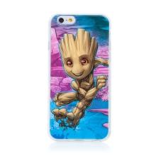 Kryt MARVEL pro Apple iPhone 6 / 6S - malý Groot - gumový