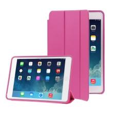 Pouzdro / kryt pro Apple iPad mini 1 / 2 / 3 - funkce chytrého uspání + stojánek - růžové