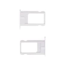 Rámeček / šuplík na Nano SIM pro Apple iPhone 6 - stříbrný (silver) - kvalita A+