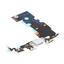 Napájecí a datový konektor s flex kabelem + GSM anténa + mikrofony pro Apple iPhone 8 - kvalita A+