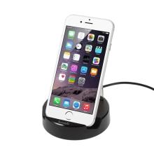 KUMISHI nabíječka bezdrátová / nabíjecí dock (dokovací stanice) pro Apple iPhone 6 / 6S / 7 - černá