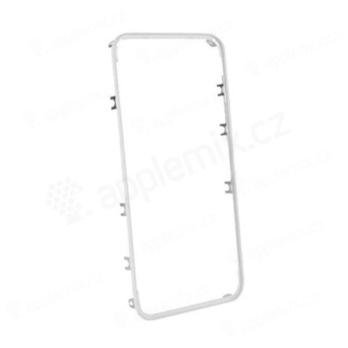 Náhradní středový rámeček Mid Frame pro Apple iPhone 4 - bílý - kvalita A