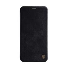 Pouzdro NILLKIN Qin pro Apple iPhone 11 - umělá kůže - černé