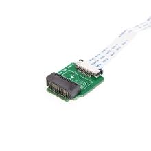 Redukce / čtečka SSD disků 6+12pin pro Apple MacBook Air na SATA 22pin s 24pin LIF kabelem