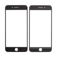 Přední sklo pro Apple iPhone 7 Plus - černé - kvalita A