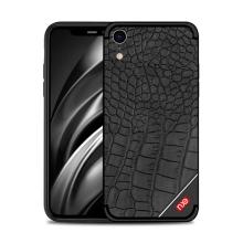 Kryt NXE pro Apple iPhone Xr - gumový - krokodýlí textura