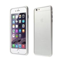 Plasto-gumový rámeček / bumper pro Apple iPhone 6 Plus / 6S Plus - bílý