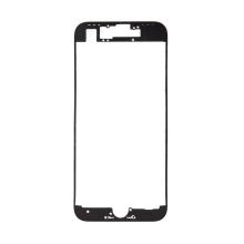 Rámeček předního panelu pro Apple iPhone 8 - plastový - černý - kvalita A+