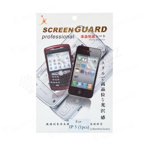 Obyčejná ochranná fólie pro Apple iPhone 5 / 5C / 5S / SE - čirá