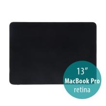 Obal / kryt pro Apple MacBook Pro 13 Retina (model A1425, A1502) - tenký - plastový - matný - černý