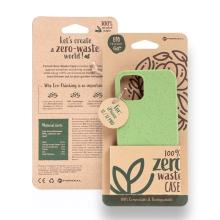 Kryt FORCELL BIO - pro Apple iPhone 12 / 12 Pro - Zero Waste kompostovatelný kryt - zelený