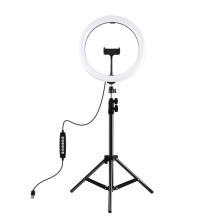 LED světlo PULUZ (Ring light) - kruhové - dálkové ovládání + stativ 120 cm - na streamování - 360° otočné