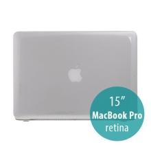 Tenký ochranný plastový obal pro Apple MacBook Pro 15.4 Retina (model A1398) - lesklý - průhledný