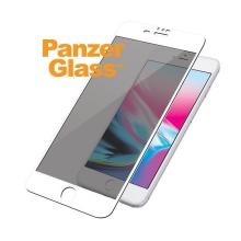 Tvrzené sklo / Tempered Glass PanzerGlass Premium pro Apple iPhone 6 / 6S / 7 / 8  - bílý rámeček