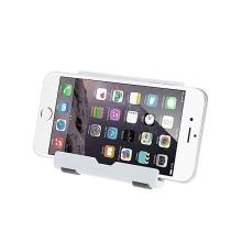 Univerzální polohovací plastový stojánek pro Apple iPad / iPhone - bílý