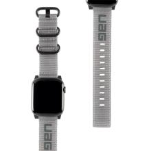 Řemínek UAG Nato pro Apple Watch 41mm / 40mm / 38mm - nylonový - šedý