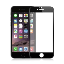 Tvrzené sklo / Tempered Glass AMORUS pro Apple iPhone 6 / 6S -  černý rámeček