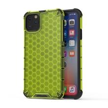 Kryt pro Apple iPhone 11 Pro - plastový / gumový - černý / zelený