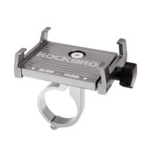 Držák na kolo ROCKBROS pro Apple iPhone - univerzální - pevný - hliník - šedý