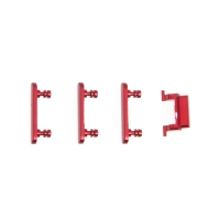 Sada postranních tlačítek / tlačítka pro Apple iPhone 7 (Power + Volume + Mute) - červená - kvalita A+