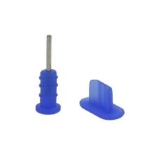 Antiprachové záslepky pro Apple iPhone - modré