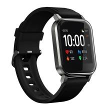 Fitness chytré hodinky XIAOMI HAYLOU LS02 - krokoměr / měřič tepu - Bluetooth - vodotěsné - černé