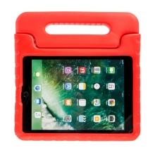 Pouzdro pro děti pro Apple iPad Air 1 / Air 2 / 9,7 (2017-2018) - rukojeť / stojánek - pěnové - červené
