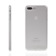Kryt pro Apple iPhone 7 Plus / 8 Plus gumový - průhledný
