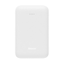 Externí baterie / power bank BASEUS - 2x USB + Micro USB + USB-C - 10000 mAh - bílá