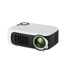 Mini projektor A2000 - HDMI / USB připojení + stativ - bílý